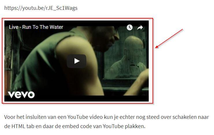 Beperking Youtube Video's Insluiten in je WordPress Berichten